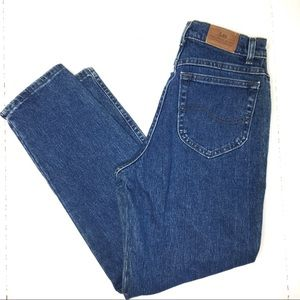 Vintage LEE High Rise Mom Wedgie Fit Jeans Size 8